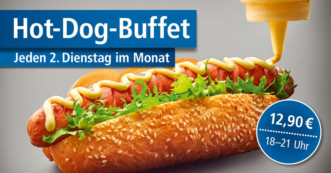 Hot Dog Buffet im Select Hotel A1 Wirtshaus
