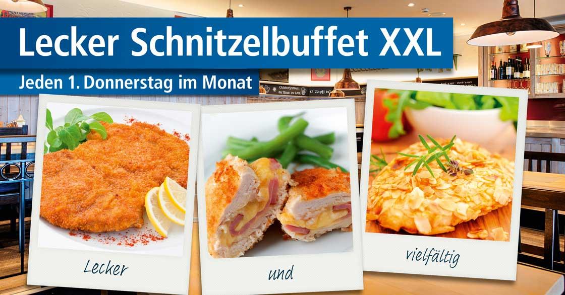 Schnitzelbuffet im Select Hotel A1 Wirtshaus