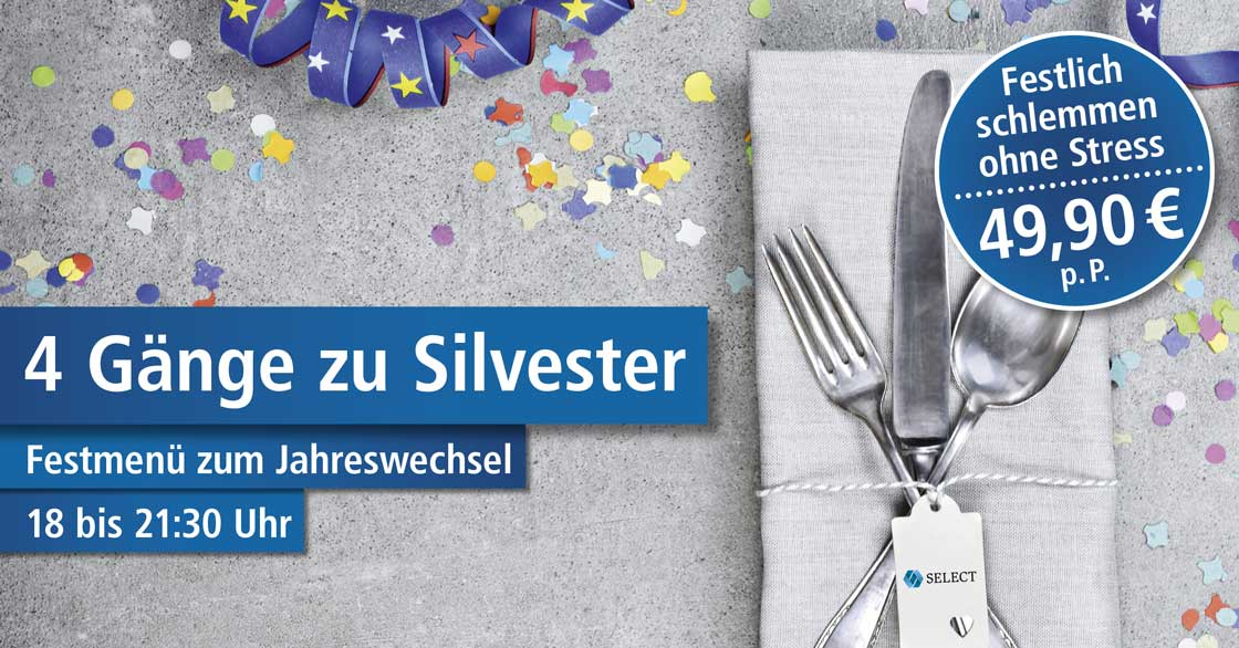 Silvesterparty im Select Hotel A1 Wirtshaus